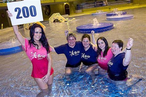 brio leisure chester brio leisure staff complete sport relief challenge