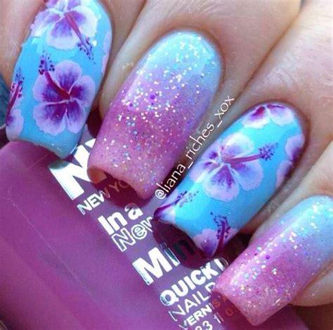 flower nails ideas  pinterest spring nails