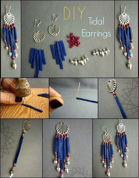 how to make fashion jewelry accessories step by step tutorials how to make gorgeous earrings