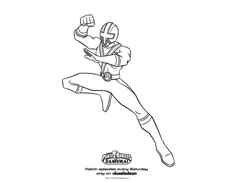 power rangers samurai coloring pages red power ranger samurai coloring page preschool worksheets