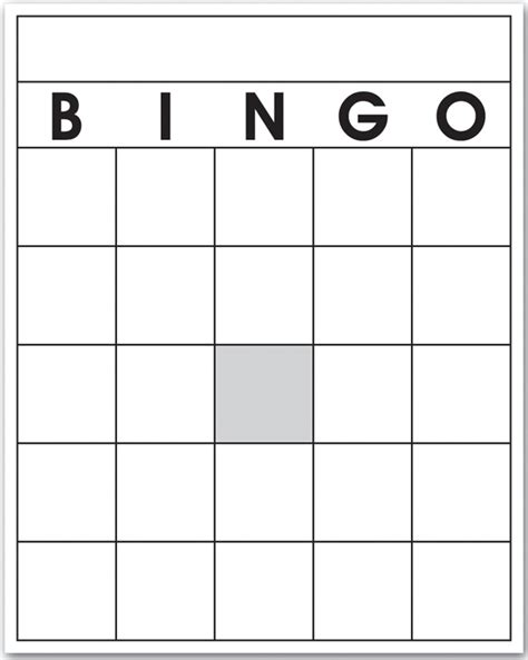 free printable bingo cards template 6 best images of 4x4 blank bingo cards printable 4x4