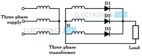 uncontrolled diode rectifier 4 different power converters