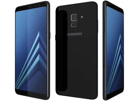 Samsung Galaxy A8 2018 Black samsung galaxy a8 2018 plus black 3d cgtrader