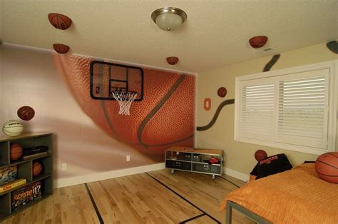 basketball bedroom http www autotize com wp content gallery home wall