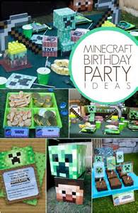 Buffet Table Decorations Ideas Top Notch Minecraft Themed Boy S Birthday Party
