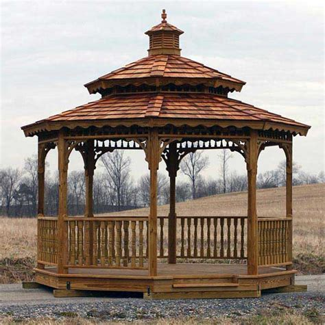 wood gazebo kits alan s factory outlet free delivery in va and wv on