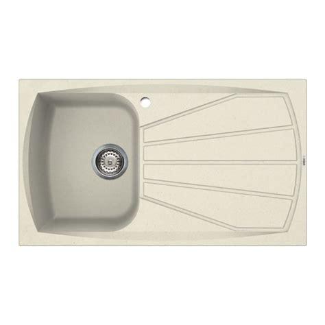 cream kitchen sink reginox living 400 inset granite sink cream sinks taps com