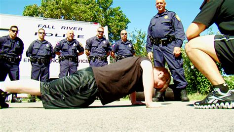 Officer Physical Requirements by Physical Agility Test For The Fitness