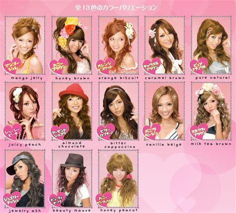 Palty Hair Color Point mode les colorations japonaises articles culture