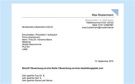 Anschreiben Herr Dr empf 228 ngerfeld beschriften professionelles anschreiben in