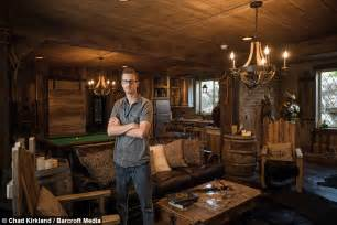 Skyrim Home Decorating by Superfan Spends 50 000 On Elder Scrolls Video Game Basement Conversion