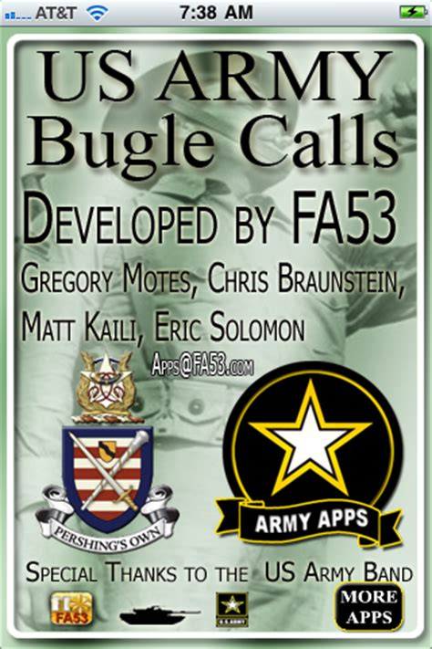 tattoo army bugle call us army bugle calls iphone music apps by fa53