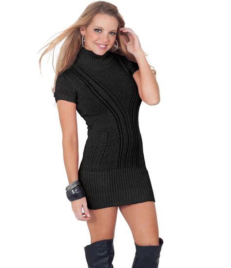 Turtleneck Mini Sweater Dress turtleneck sweater mini dress gray cardigan sweater