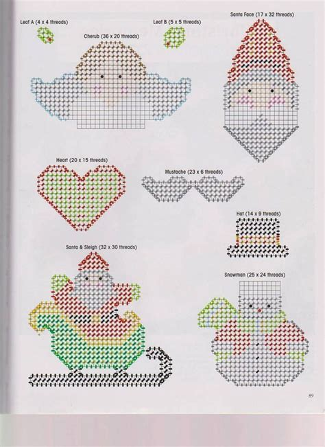 plastic canvas ornament patterns ornaments plastic canvas needlepoint