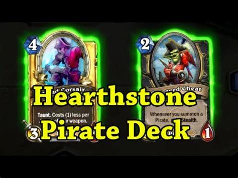 Hearthstone Pirate Deck hearthstone pirate deck yarrrrr
