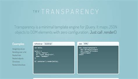 jquery template engine jquery template engine tmpl jquery plugins www