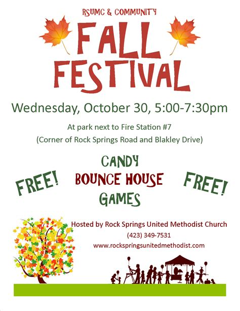 Google Flyer Templates Free fall festival flyer template search fall
