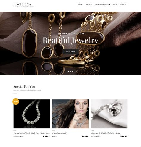 51 Best Ecommerce Wordpress Themes Templates Design Trends Premium Psd Vector Downloads Jewellery Web Templates