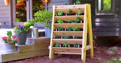 build  vertical herb planter diy sia magazine