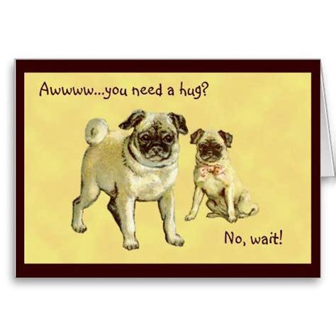 vintage pug vintage pugs greeting get well sympathy card