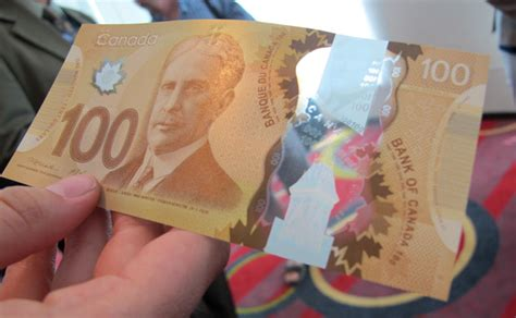 Fabiola Top Dna immigration canada new polymer 100 bill goes into
