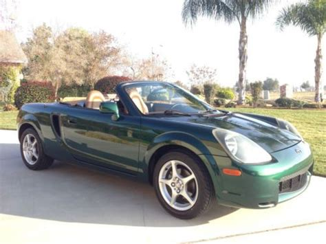 how cars run 2002 toyota mr2 navigation system sell used 2002 toyota mr2 spyder 87k mi w dvd navigation in fresno california united states