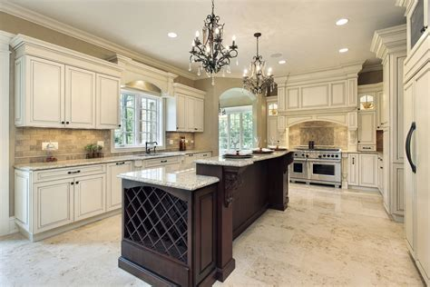 white kitchen dark island 124 pure luxury kitchen designs part 2
