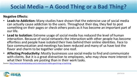 good thesis about social media ntxissacsc2 social media the good the bad and the