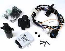 range rover trailer wiring kit with 7 way to flat 4 conversion adapter ebay