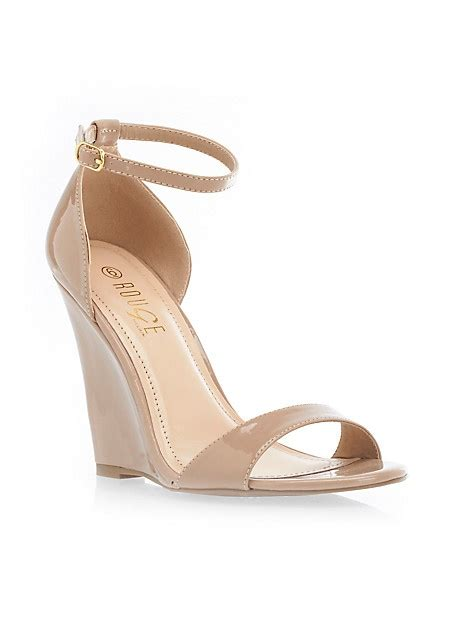 ankle wedge sandals patent large i m getting