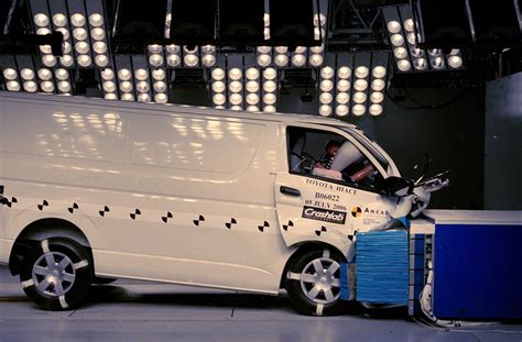 Toyota Hiace Safety Rating Toyota Hiace Sep 2011 Apr 2012 Crash Test Results Ancap