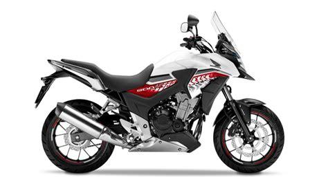 honda range of motorcycles specifications cb500x 2016 adventure range