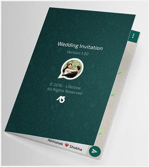 Wedding Invitation Card For Whatsapp by 41 Wedding Invitation Template Free Psd Vector Ai Eps