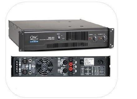 Ads A 850 4 Lifier 4 Channel user reviews qsc rmx 850 audiofanzine