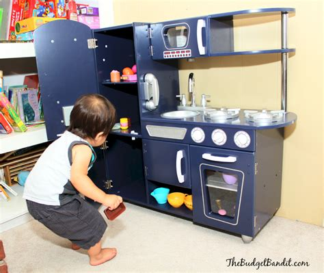 Kidkraft Kitchen Blue by Kidkraft Vintage Navy Kitchen Review Image Play Grow