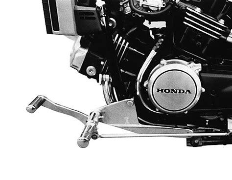 Honda Vf 750 C Aufkleber by Vorverlegte Fu 223 Rastenanlage Mit T 220 V Teilegutachten Nach