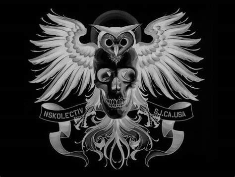 night owl tattoo everett tattoo owl