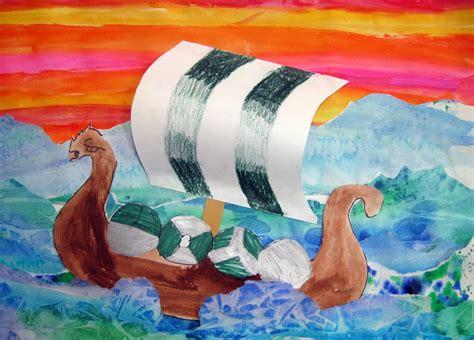 viking boats ks1 cassie stephens in the artroom 4th grade viking ships