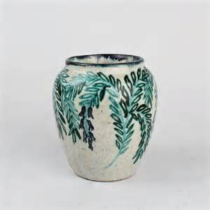 deco pottery vase by max laeuger for tonwerke kandern