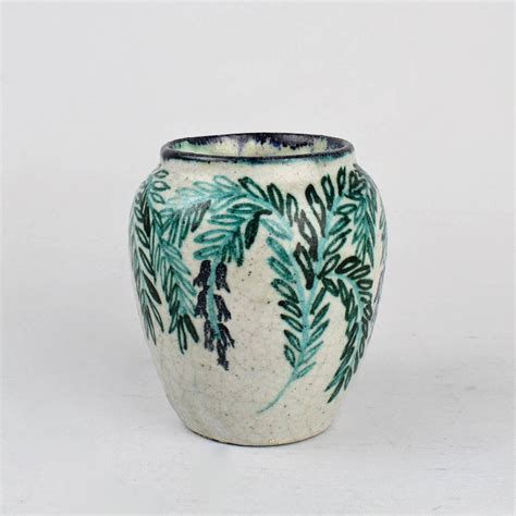 Deco Vases by Deco Pottery Vase By Max Laeuger For Tonwerke Kandern
