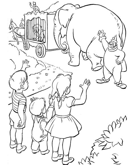 Free Printable Circus Coloring Pages For Kids Circus Animals Coloring Pages