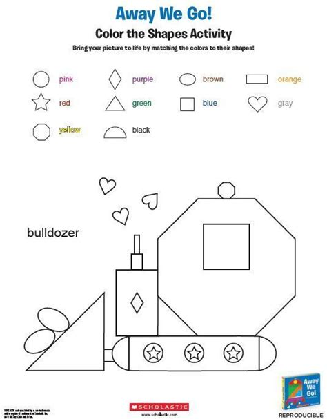 printable hidden shapes pictures 24 best images about parents prek k printables on