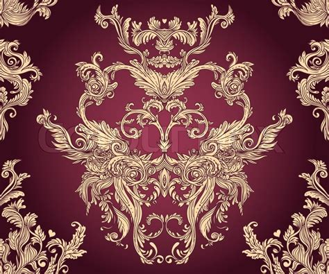 pattern baroque vector quot vintage vector background for textile design wallpaper