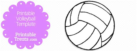 free printable volleyball pictures printable volleyball template printable treats com