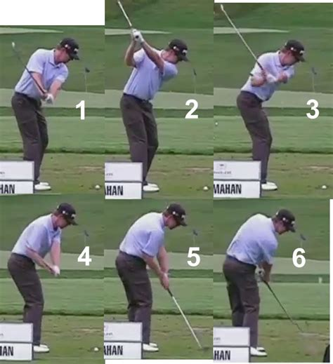 golf swing breakdown pga tour pro rst swings golf instruction online forum