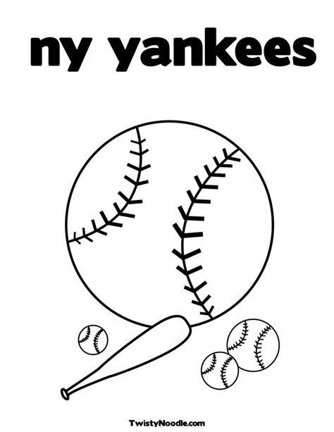 Major League Baseball Mlb Coloring Pages New York Yankees Coloring Pages