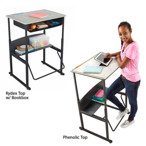 All Alphabetter Stand Up Desk By Safco Options Desks Standing Student Desks