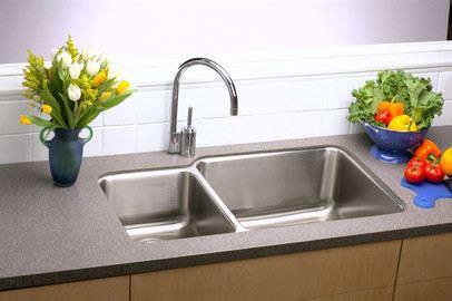 stainless steel sink undercoating elkay eluh3520rdbg 35 inch undermount bowl
