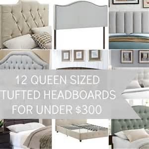 my favorite tufted king size headboards for 300