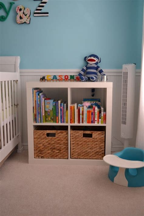 bookshelf room colorful gender neutral nursery cubes look at and nursery bookshelf
